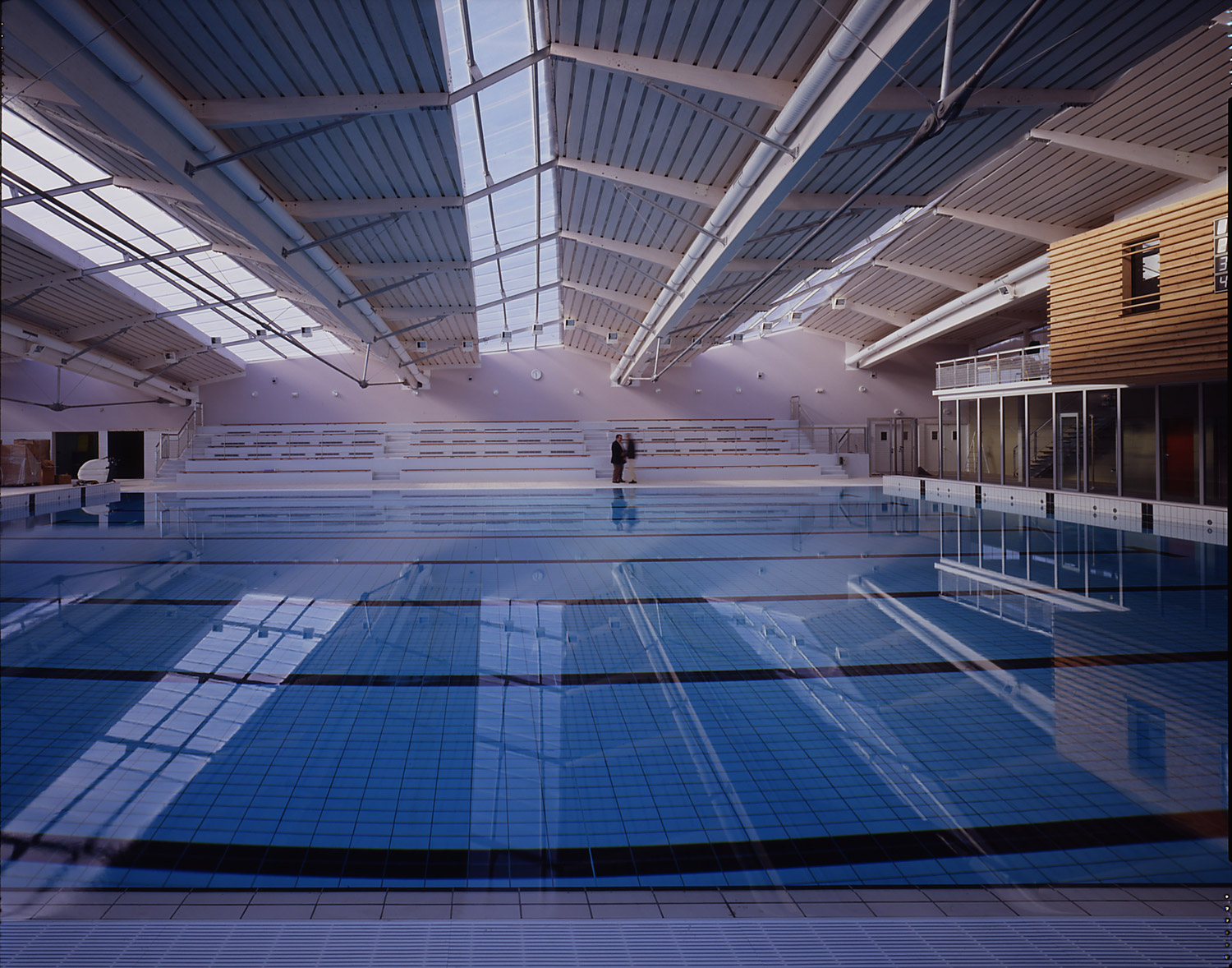 Piscine de viry chatillon lba architecture et ing nierie for Chatillon piscine